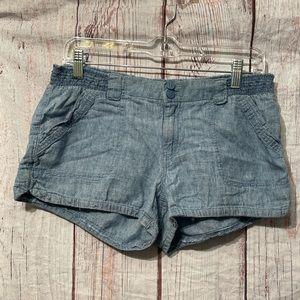 Rewind Stretch Denim Shorts